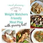 Weight Watchers friendly Meal Plan #33 with FreeStyle Smart Points