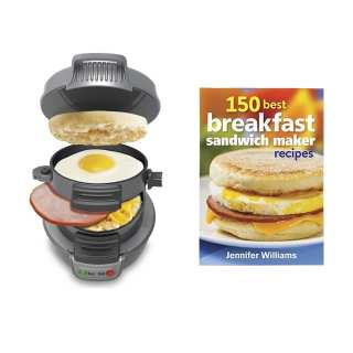 Hamilton Beach Sandwich Maker and Cookbook Giveaway