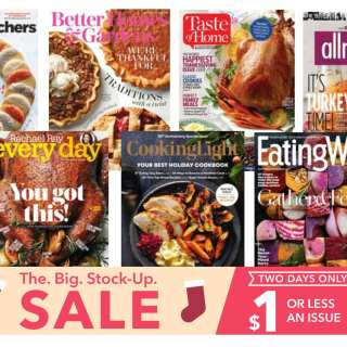 Popular Magazines at a great discount