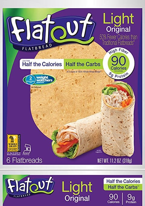 Weight watchers points mission flour tortillas