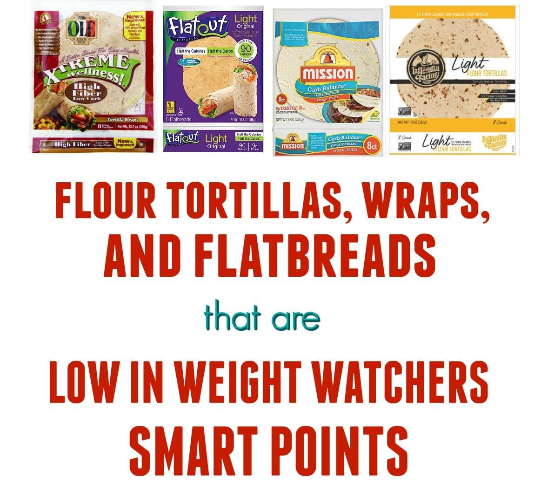 Tortillas low in SmartPoints