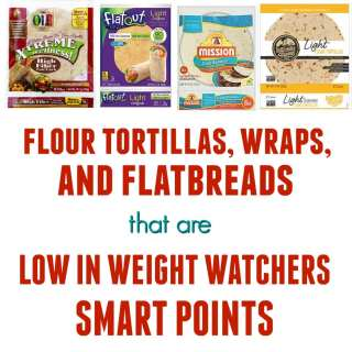 Tortillas low in SmartPoints
