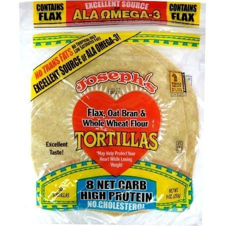 Joseph's tortillas that are low in Weight Watchers SmartPoints - Meal Planning Mommies