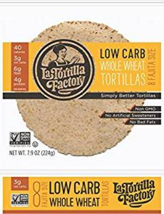La Tortilla Factory tortillas that are low in Weight Watchers SmartPoints - Meal Planning Mommies