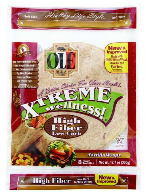 Ole Xtreme Wellness tortillas are just 1 Weight Watchers smart Point each