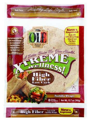 Ole Xtreme tortillas that are low in Weight Watchers SmartPoints - Meal Planning Mommies