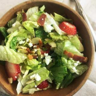 Red, White, and Bleu Salad