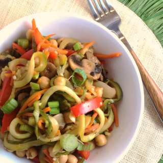 Vegetarian Honey Teriyaki Stir Fry