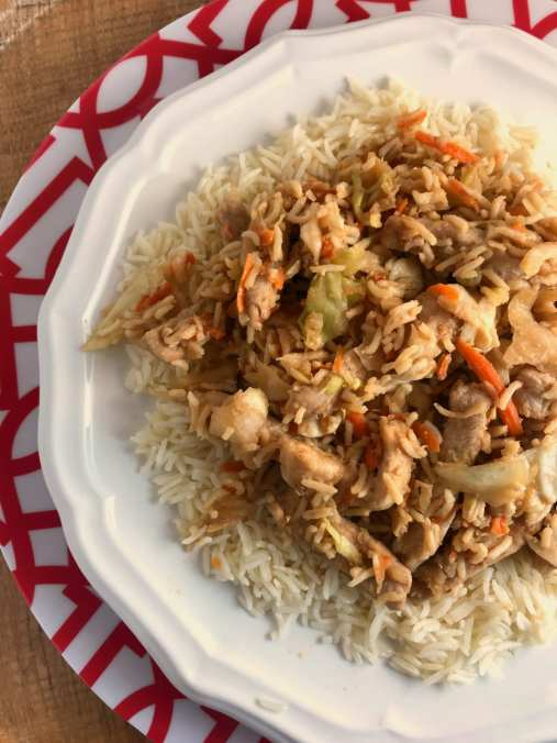 Weight Watchers Pork Stir Fry on Meal Planning Mommies