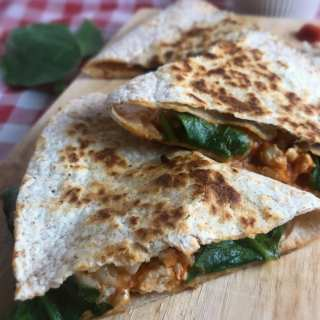 Turkey Parmesan Quesadillas