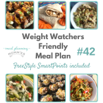 Weight Watchers Friendly Meal Plan with FreeStyle Smart Points #42