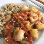 Sweet & Sour Shrimp Stir Fry