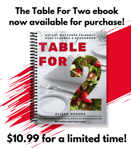 The Meal Planning Mommies Table for Two ebook sales ends October 7, 2018