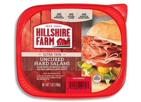 Use Hillshire Farm Ultra Thin Hard Salami for Italian Sub breasticks that are low in Weight Watcher Smart Points.
