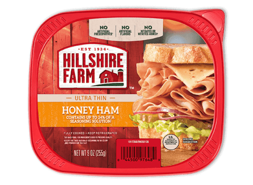 Use Hillshire Farm Ultra Thin Honey Ham for Italian Sub breasticks that are low in Weight Watcher Smart Points.