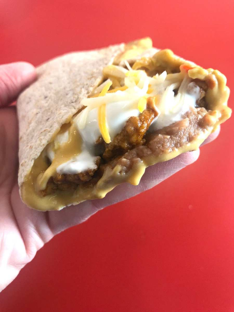 Copycat Beefy 5-Layer Burritos