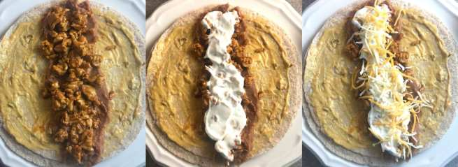 Simple ingredients and simple steps to make WW friendly copycat Taco Bell Beefy 5-Layer Burritos are easy to make and are just 6 WW FreeStyle SP per burrito! YUM!