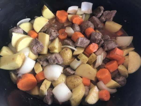 slow cooker beef pot roast.