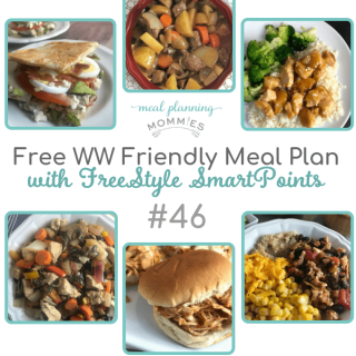 WW friendly meal plan with FreeStyle Smart Points #46