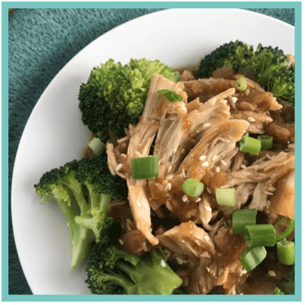 Slow Cooker Honey Sesame Chicken and Broccoli - Recipes that are perfect for when you are tired, stressed, and overwhelmed