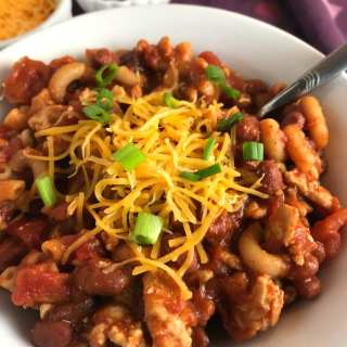 One Pot Chili Mac with Cheese