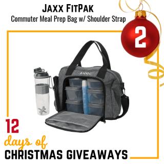 Jaxx FitPak Commuter Meal Prep Bag Giveaway
