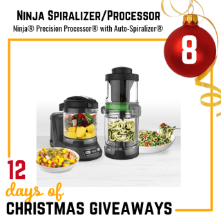 Ninja Food Processor and Spiralizer Giveaway
