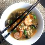 Asian Shrimp Ramen Soup