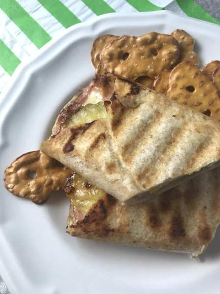 Great WW Super Bowl Party snack: Cuban=Style Paninis