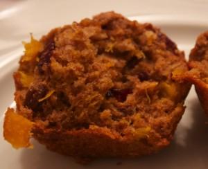 Butternut squash breakfast muffins