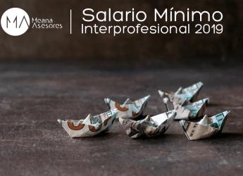 Salario Mínimo Interprofesional para el 2019