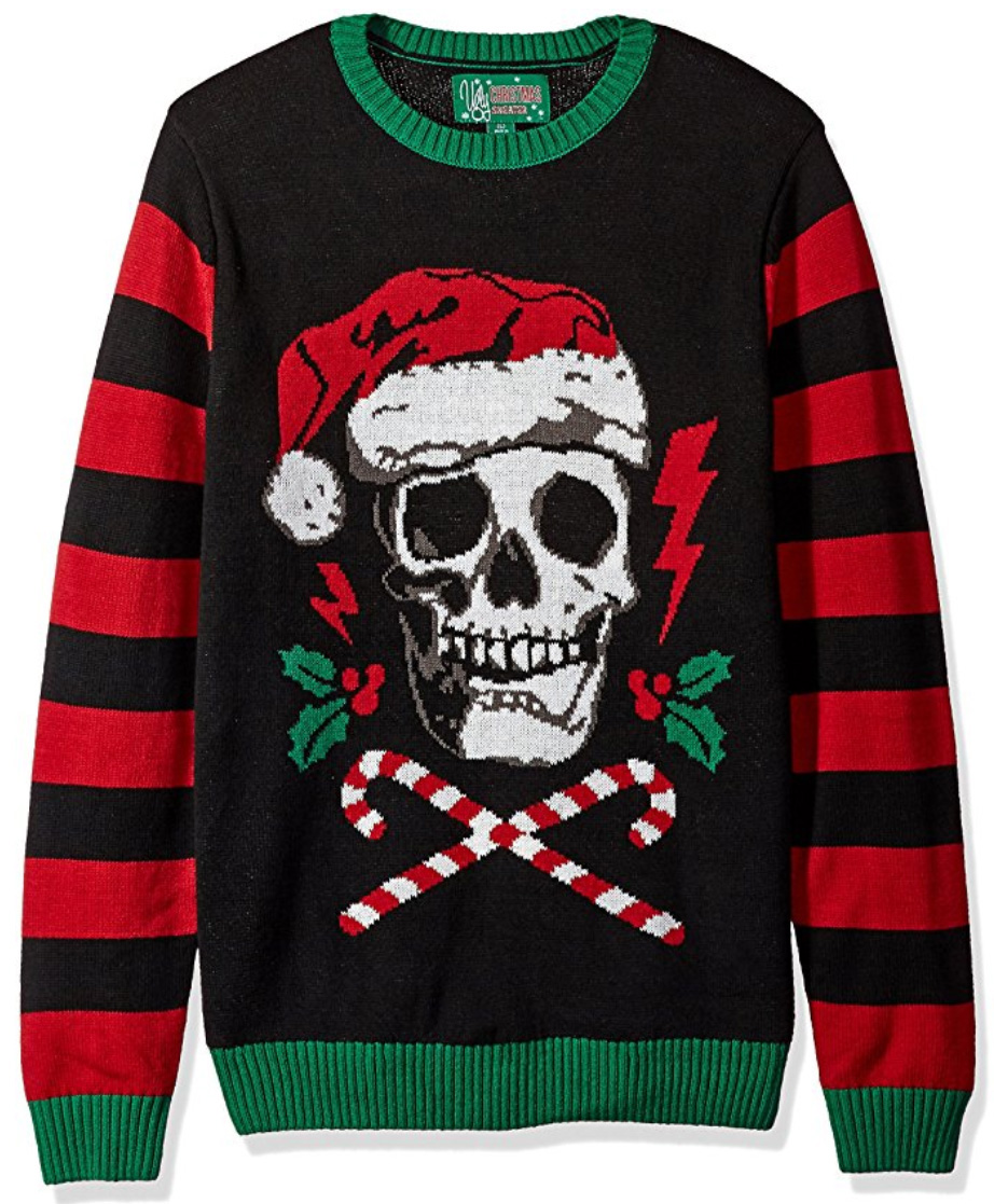 Dark, Twisted, Gothic Ugly Christmas Sweaters | Me and Annabel Lee