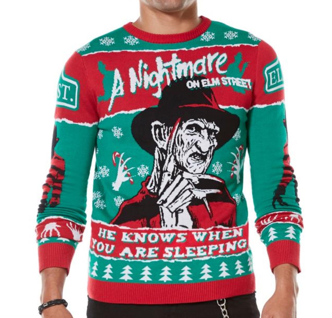 Dark, Twisted, \u0026 Gothic Ugly Creepmas Sweaters