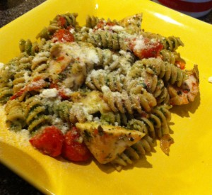 Finished dish