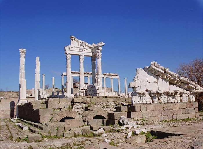 Pictures Of Pergamum Seven Churches Biblical Sites In