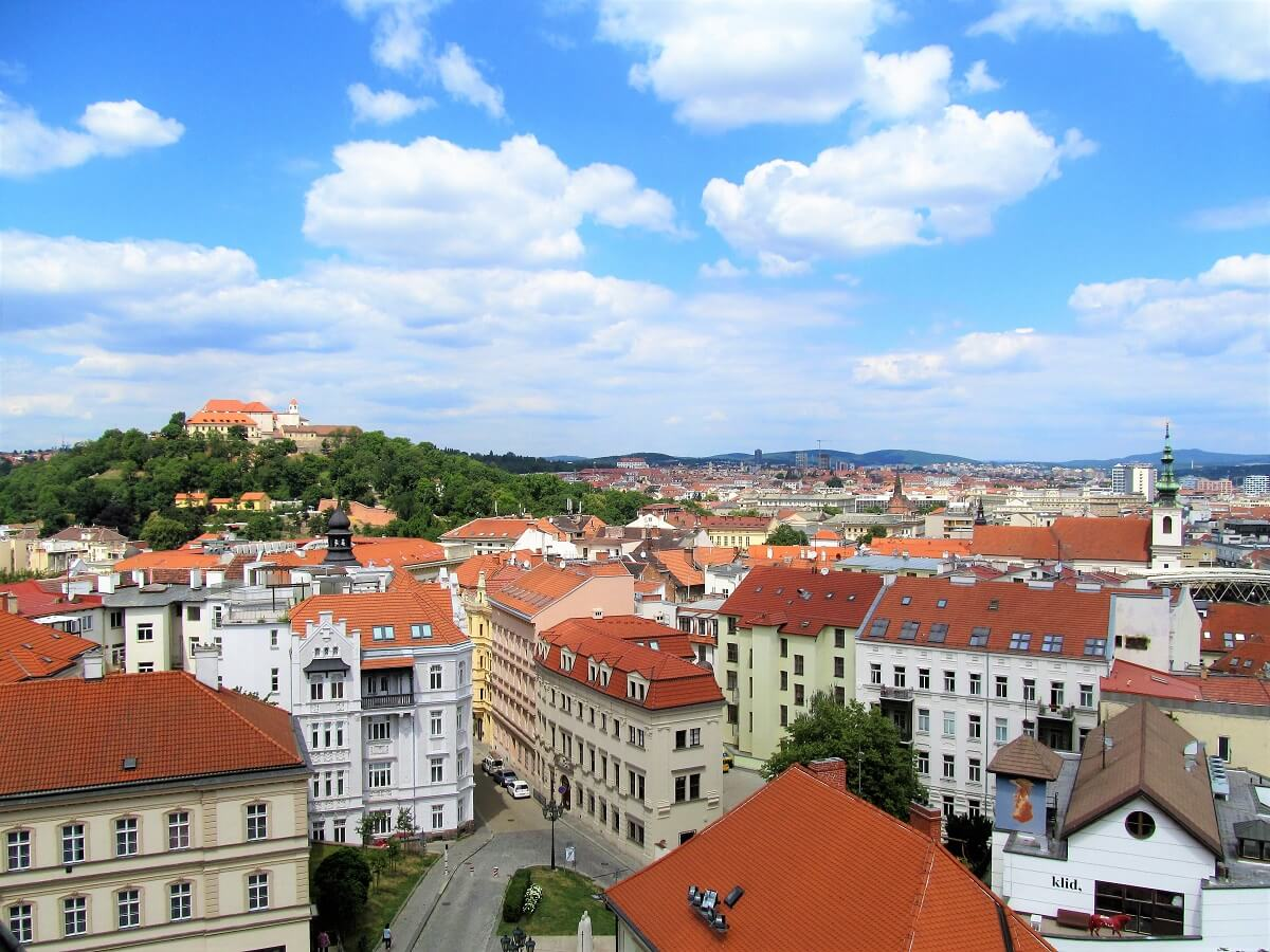 Day trip to Brno city view