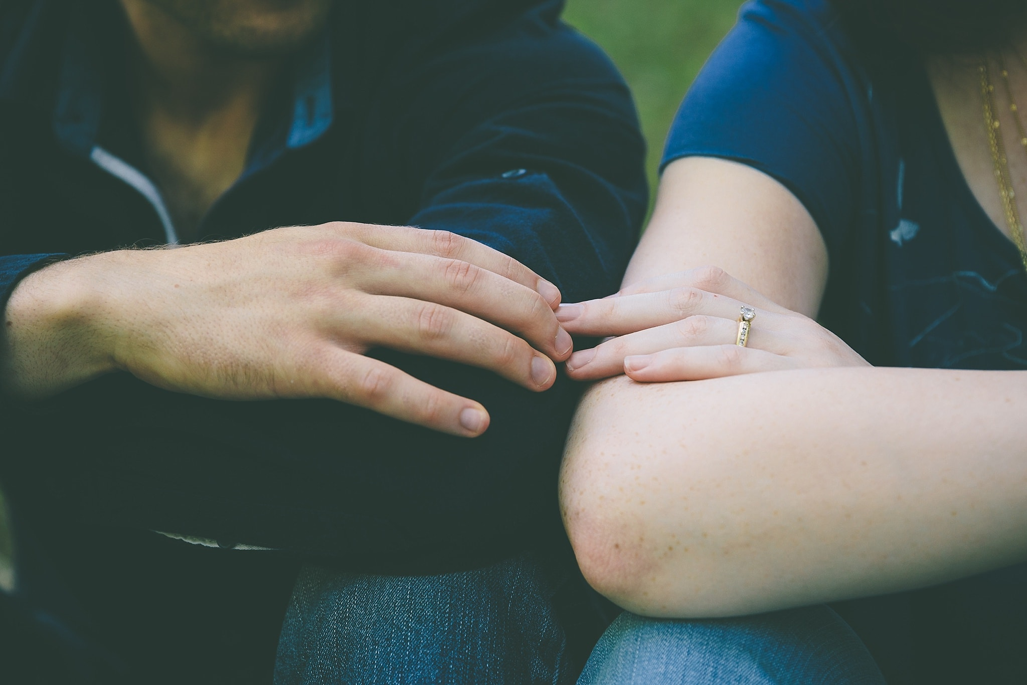 EmilyBrendan Grand Ledge Park Lansing Engagement MEHIM PHOTOGRAPHY