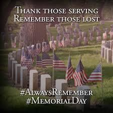 Memorial Day Week-end 2014