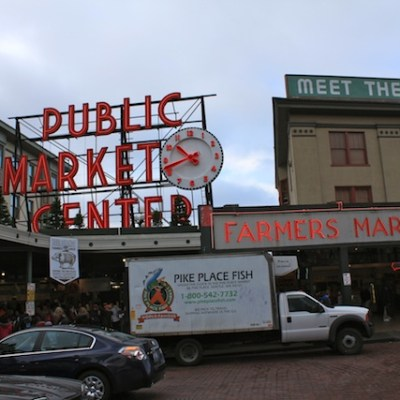 Smoked Salmon From Pike's Market