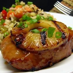 Pork Chop Tropicale'