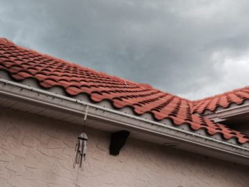 The tile roof
