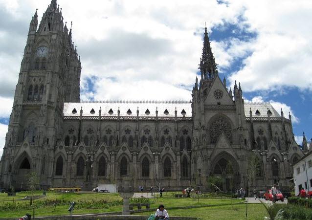 Basilica of the National Vow, Quito, Ecuador