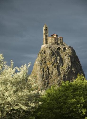 Saint-Michel d'Auiguilhe, Puy-en-Velay, France