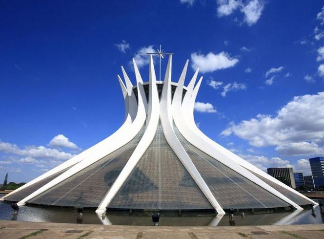 Metropolitan Cathedral of Our Lady Aparecida Brasilia, Brazil