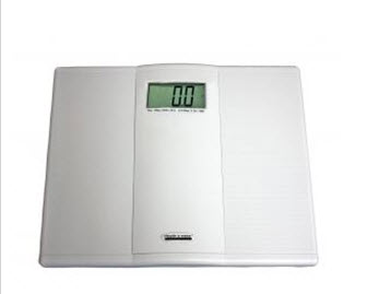 Another friend received a digital scale....