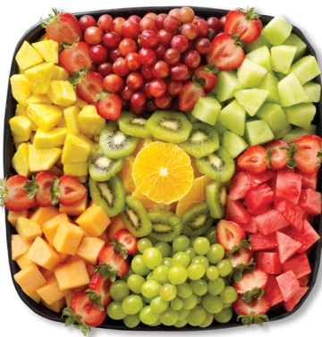 And of course fruit!