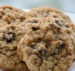 College Basketball and Homemade Oatmeal Raisin Cookies!