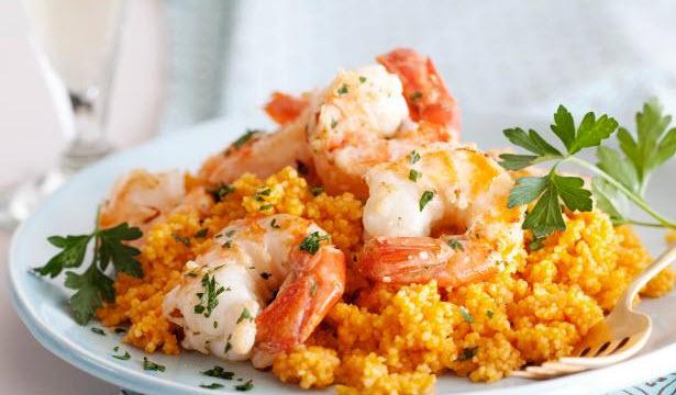 Shrimp N' Couscous