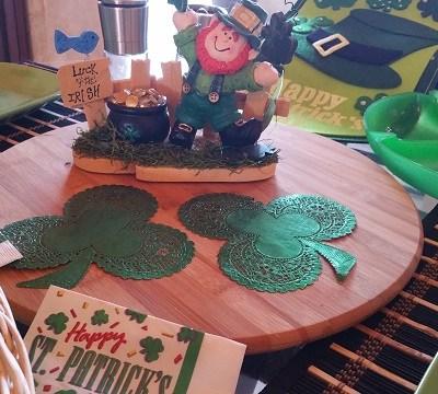 Our St. Patrick's Day Celebration!