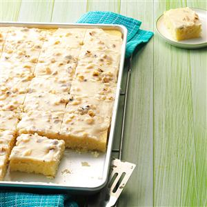 Pineapple Sheet Cake Is Good Anytime of Year!